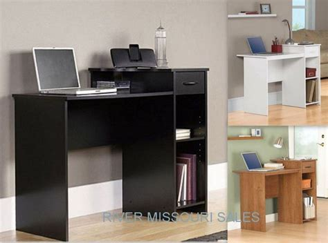 mainstay computer desk white mainstays student home computer office black white desk