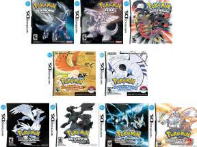 game pokemon nds
