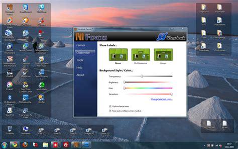 logiciel icone bureau gérer vos icones avec fences informateque