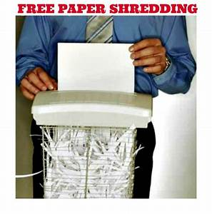 office depot or officemax coupon 2 free pounds of paper With paper and document shredding