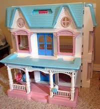 fisher price dream dollhouse Fisher Price Dream Doll House - my first dollhouse I got when I was little. | Back In My Day ...