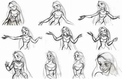 Tangled Keane Glen Character Rapunzel Disney Concept