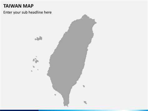 taiwan map powerpoint sketchbubble