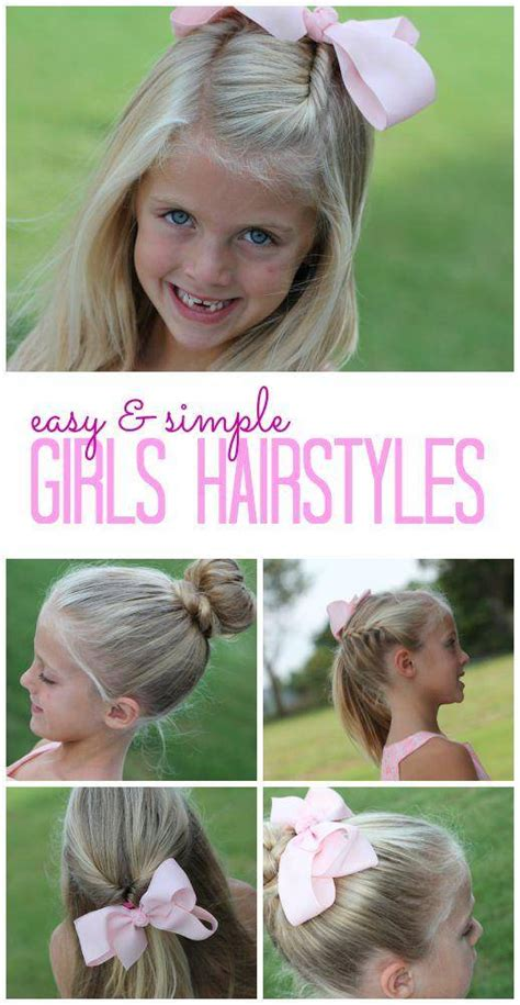 easy girls hairstyles for back to school