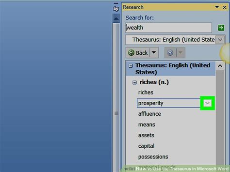How To Use The Thesaurus In Microsoft Word