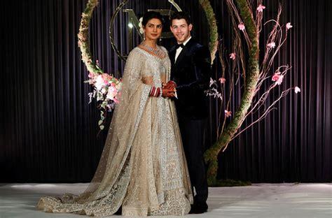 Priyanka Chopra, Nick Jonas Celebrate Wedding At New Delhi Reception