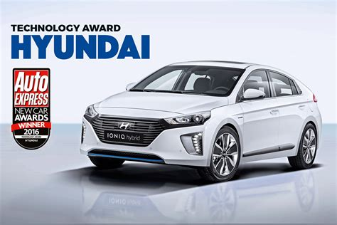 Best Car Award 2016 by Technology Award 2016 Hyundai Auto Express