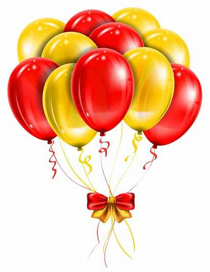 Transparent Balloons Background