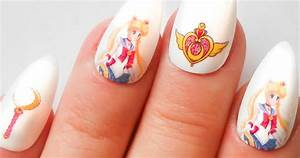 Sailor Moon Nails - Shut Up And Take My Yen