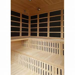 large 3 4 person outdoor infrared sauna carbon heaters