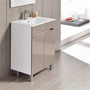meuble salle de bain porte coulissante maison design With porte de douche coulissante avec meuble salle de bain vasque 80 cm