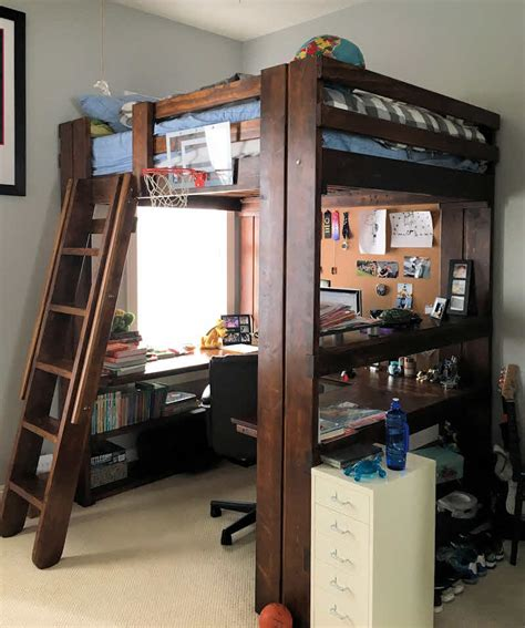Bedroom Source Loft Beds by Bedroom Makeovers Custom Loft Bunk Beds Page 1