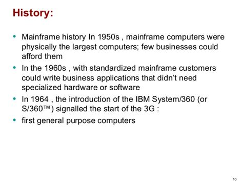 Mainframe Computer Definition In Short