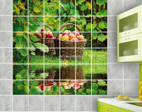 stickers pour faience cuisine stickers carrelage mural faience déco cuisine ou salle de