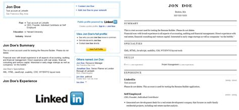 Convert Linkedin To Resume by How To Convert Your Linkedin Profile To A Resume Easily