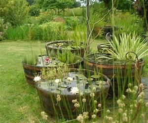 fabriquer un bassin de jardin cobtsacom With idee pour amenager son jardin 4 construire bassin exterieur etang ou jardin deau plans