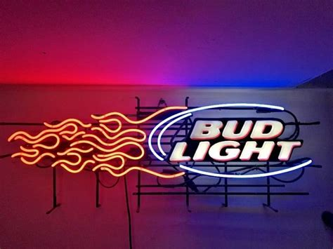 bud light shop neon signs bud light shop collectibles daily