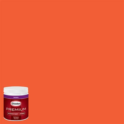 glidden premium 8 oz nfl 172b denver broncos orange