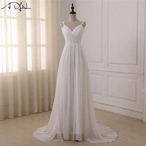 Online get cheap beach wedding dresses aliexpresscom for Budget wedding dresses