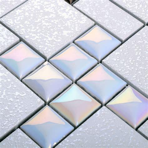 wholesale backsplash tile kitchen wholesale porcelain mosaic floor tile grey square