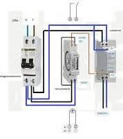 esquemas el 233 ctricos como conectar un reloj horario a un contactor esquemas el 233 ctricos