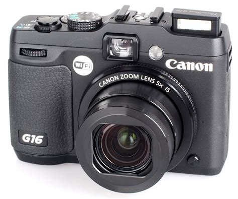 Canon G16 by Canon Powershot G16 Review Ephotozine