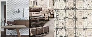 Papier Peint Style Industriel : la tendance papier peint par aurelia m ~ Dailycaller-alerts.com Idées de Décoration