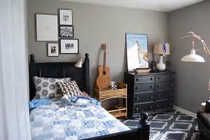 boy rooms pendant light on a stick decor ideas With bedroom wall designs for boys