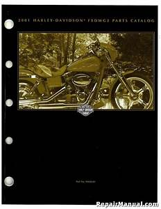2001 Harley Davidson Fxdwg2 Parts Manual