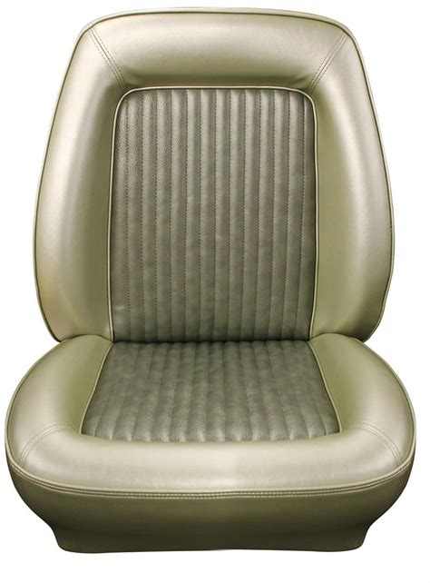seat upholstery  mustang deluxe seat cover front