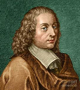 Blaise Pascal, French Polymath Photograph by Science Source