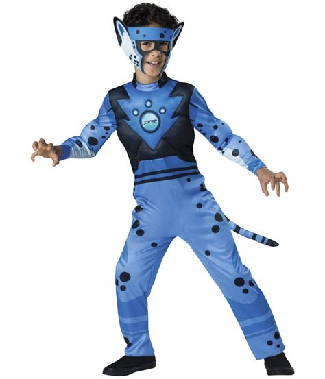 swift blue cheetah boys wild kratts costume tv show costumes