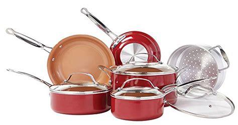gotham steel  red copper  copper chef  true comparison