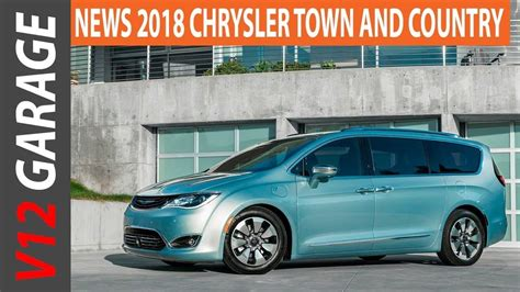 New 2019 Chrysler Town Country Interior  Car Review 2019