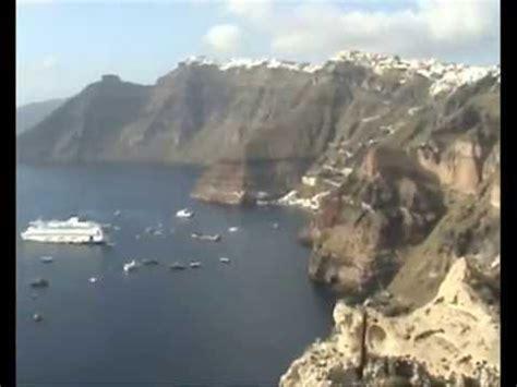 Cruise Ship Sinking Santorini by Sinking Cruise Ship Santorini