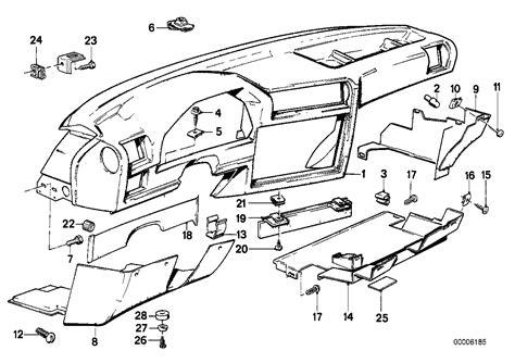 Bmw E30 Part Diagram by Realoem Bmw Parts Catalog