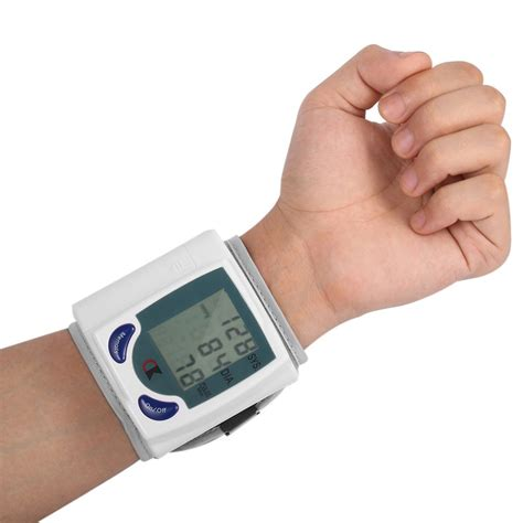 Blood Pressure Monitor Automatic Digital Heart Beat Rate