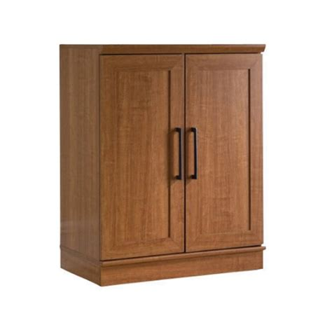 sauder homeplus base cabinet oak sauder homeplus base oak finish storage cabinet ebay