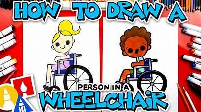Draw Wheelchair Person Sitting Hub