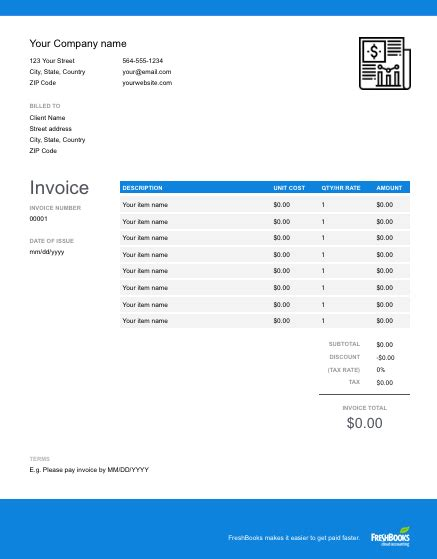 sole trader invoice template   send  minutes