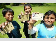 Nueve millones de niños peruanos tendrán DNI en abril