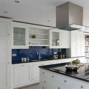 blue and white kitchen traditional kitchen ideas housetohome co uk