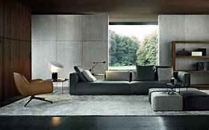 Moderne Wandfarben Für Wohnzimmer : inneneinrichtung ideen trendfarbe grau f r das innendesign ~ Sanjose-hotels-ca.com Haus und Dekorationen