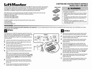 Chamberlain 892lt User Manual Pdf Download