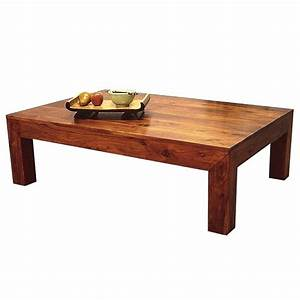 Table Bois Exotique : table basse bois exotique table basse carr e bois newbalancesoldes ~ Farleysfitness.com Idées de Décoration