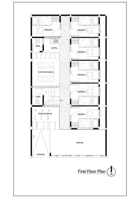 bioclimatic  biophilic boarding house andyrahman