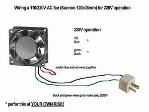 Fan Wiring 220v