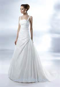 white gown wedding dresses straps ruched white trian bridal dresses uk on sale straps ruched white trian