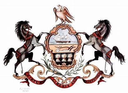 Pa Flag Arms State Coat Pennsylvania Demolay