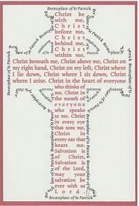 St. Patrick's Breastplate: A daily prayer for Lent | Daily ...